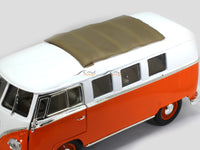 1962 VolksWagen Microbus orange 1:18 Road Signature Yatming diecast scale model car