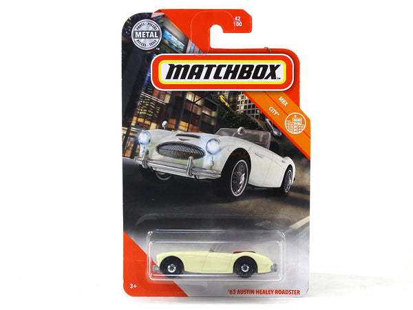 1963 Austin Healey Roadster 1:64 Matchbox collectible scale model car