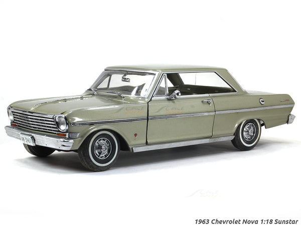 1963 Chevrolet Nova 1:18 Sunstar diecast Scale Model car