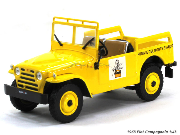 1963 Fiat Campagnola 1:43 diecast Scale Model Car