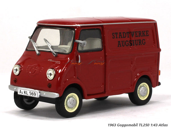 1963 Goggomobil TL250 1:43 Atlas diecast Scale Model Van