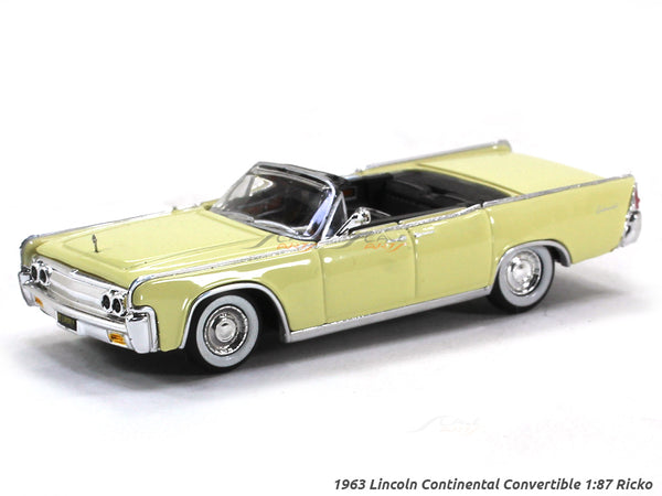 1963 Lincoln Continental Convertible 1:87 Ricko HO Scale Model car