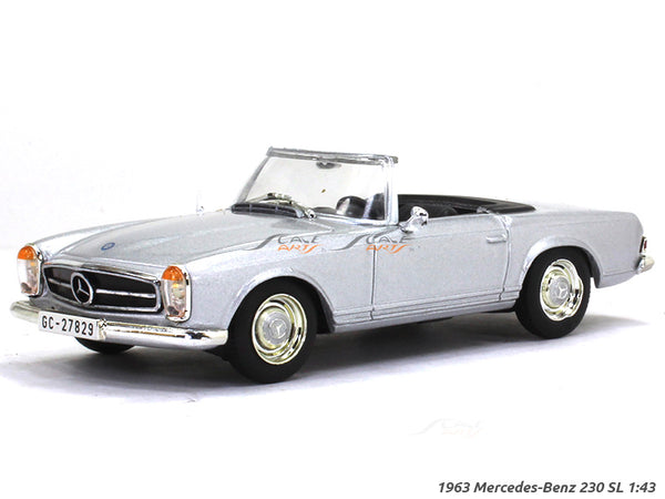 1963 Mercedes-Benz 230 SL 1:43 diecast Scale Model Car