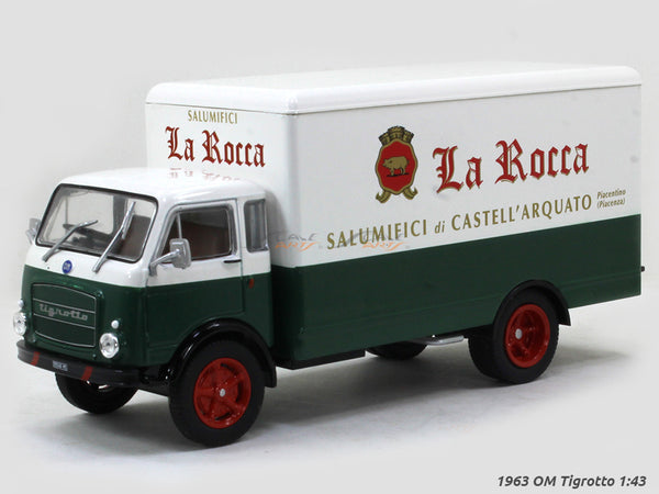 1963 OM Tigrotto 1:43 diecast Scale Model Car