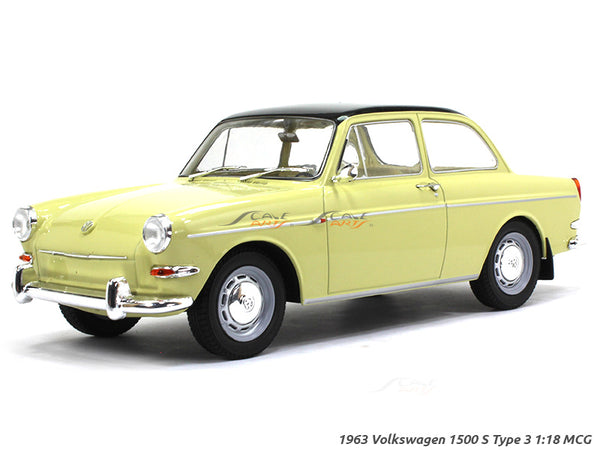 1963 Volkswagen 1500 S Type 3 1:18 MCG diecast Scale Model Car