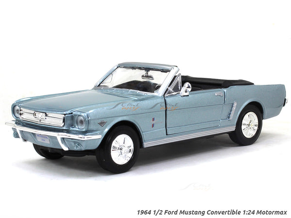 1964 1/2 Ford Mustang Convertible 1:24 Motormax diecast scale model car