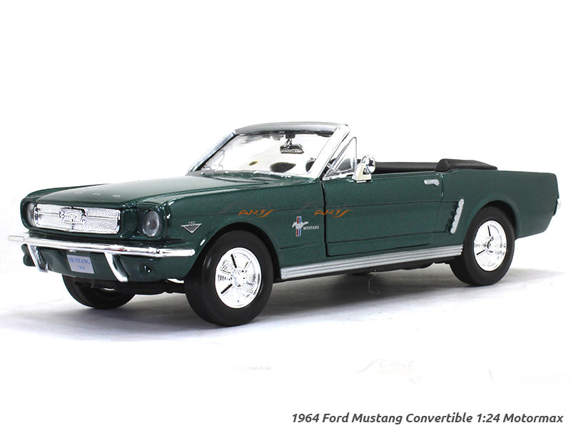 1964 Ford Mustang Convertible 1 24 Motormax Diecast Scale Model Car Scale Arts India