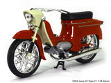 Jawa 50 type 21 red 1:18 Abrex diecast Scale Model Bike