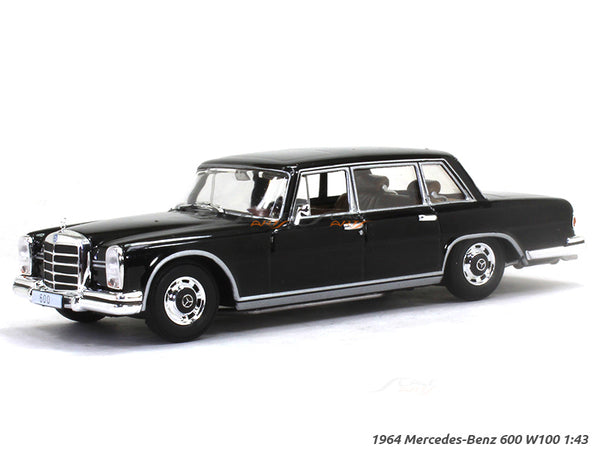 1964 Mercedes-Benz 600 W100 1:43 diecast Scale Model Car