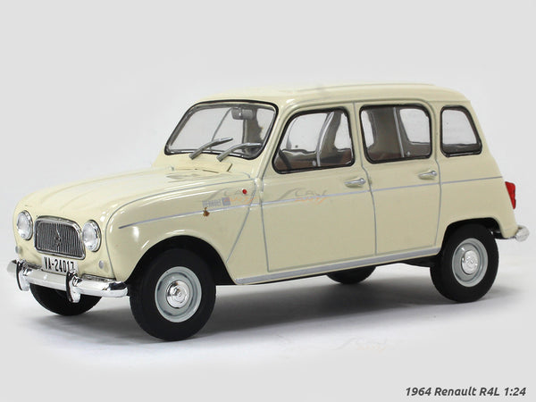 1964 Renault R4L 1:24 diecast scale model car