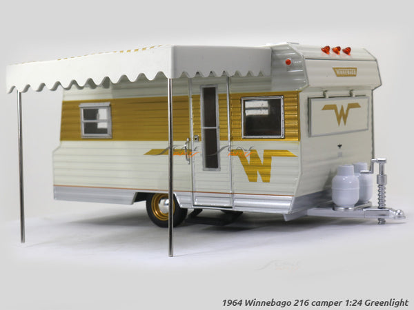 1964 Winnebago 216 Camper 1:24 Greenlight diecast Scale Model car