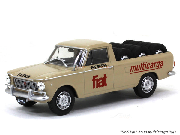 1965 Fiat 1500 Multicarga 1:43 diecast Scale Model Car