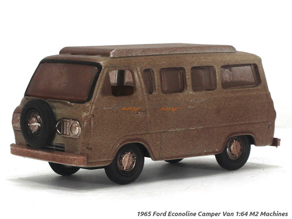 1965 Ford Econoline Camper Van 1:64 M2 Machines diecast Scale Model Van