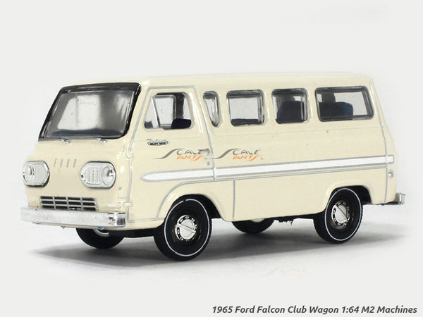 1965 Ford Falcon Club Wagon 1:64 M2 Machines diecast Scale Model Van