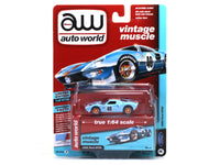 1965 Ford GT40 Gulf 1:64 Auto World diecast Scale Model car