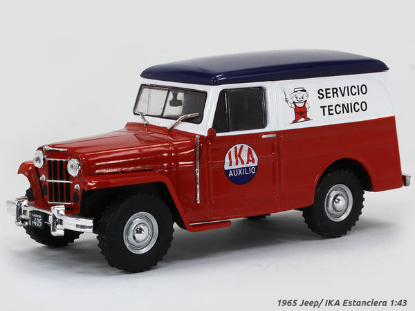 1965 Jeep/ IKA Estanciera 1:43 DeAgostini diecast scale model