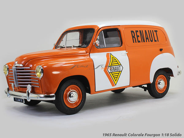1965 Renault Colorale Fourgon 1:18 Solido diecast Scale Model Car