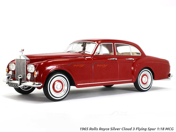 1965 Rolls-Royce Silver Cloud 3 Flying Spur 1:18 MCG diecast Scale Model Car