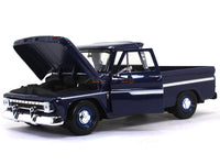 1966 Chevy C10 Fleetside Pickup 1:24 Motormax diecast scale model car