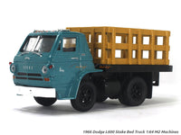 1966 Dodge L600 Stake Bed Truck green 1:64 M2 Machines diecast Scale Model Truck