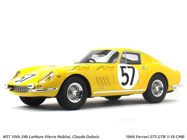 1966 Ferrari 275 GTB 1:18 CMR Scale Model Car