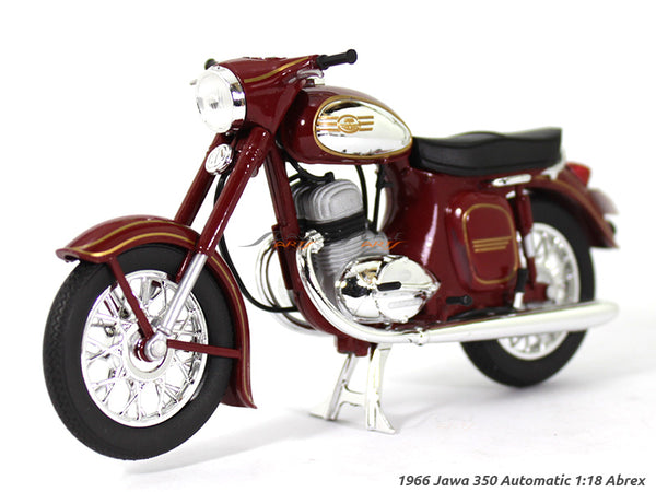 1966 Jawa 350 Automatic red 1:18 Abrex diecast Scale Model Bike