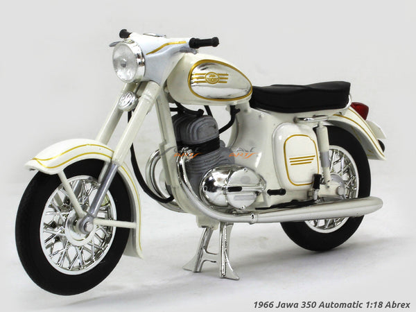 1966 Jawa 350 Automatic white 1:18 Abrex diecast Scale Model Bike