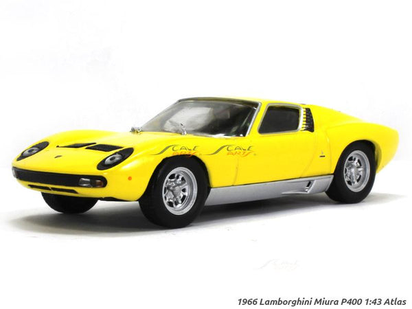 1966 Lamborghini Miura P400 1:43 Atlas diecast Scale Model Car