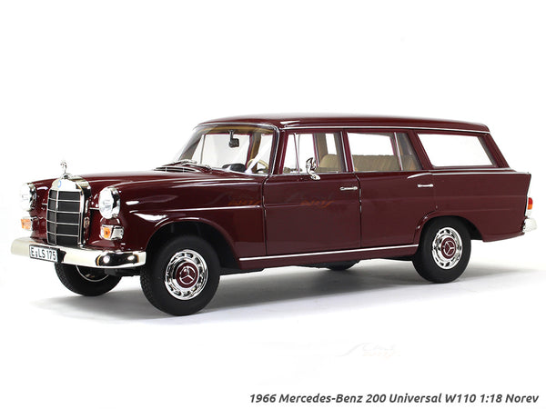 1966 Mercedes-Benz 200 Universal W110 1:18 Norev diecast scale model car
