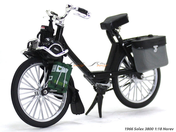 1966 Solex 3800 1:18 Norev diecast scale model bike