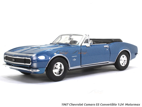 1967 Chevy Camaro SS 1:24 Motormax diecast scale model car