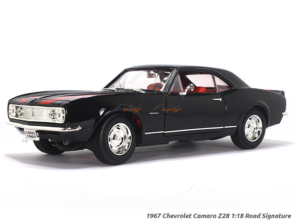 1967 Chevrolet Camaro Z28 black 1:18 Road Signature Yatming diecast scale model car