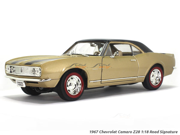 1967 Chevrolet Camaro Z28 1:18 Road Signature Yatming diecast scale model car