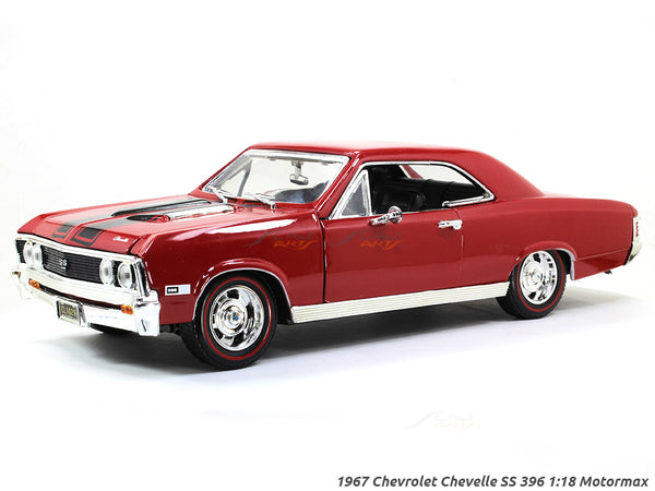 1967 Chevrolet Chevelle SS 396 1:18 Motormax diecast scale model car