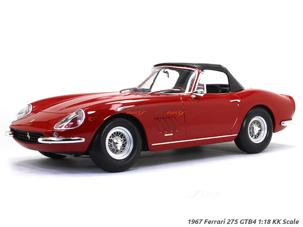 1967 Ferrari 275 GTB4 1:18 KK Scale model car