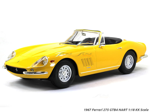 1967 Ferrari 275 GTB4 NART 1:18 KK Scale diecast model car