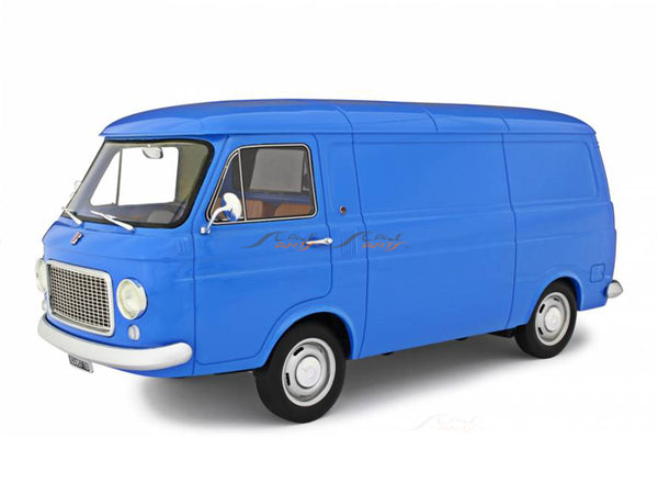 PreBook : 1967 Fiat 238 Series Panel Van blue 1:18 Laudoracing Scale Model Van