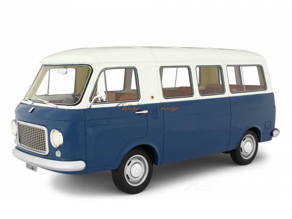 PreBook : 1967 Fiat 238 Series 1 Minibus blue 1:18 Laudoracing Scale Model Van