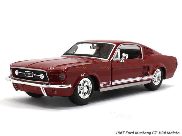 1967 Ford Mustang GT 1:24 Maisto diecast Scale Model car