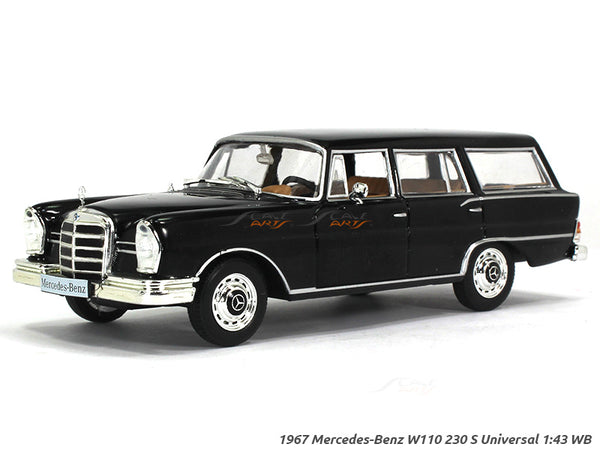 1967 Mercedes-Benz 230S Universal 1:43 Whitebox diecast Scale Model Car