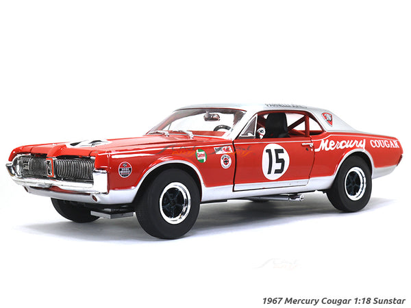 1967 Mercury Cougar 1:18 Sunstar diecast Scale Model Car