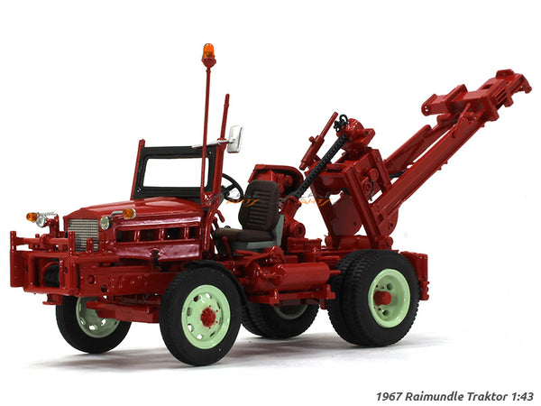 1967 Reimundle Tractor 1:43 Liechtenstein diecast Scale Model