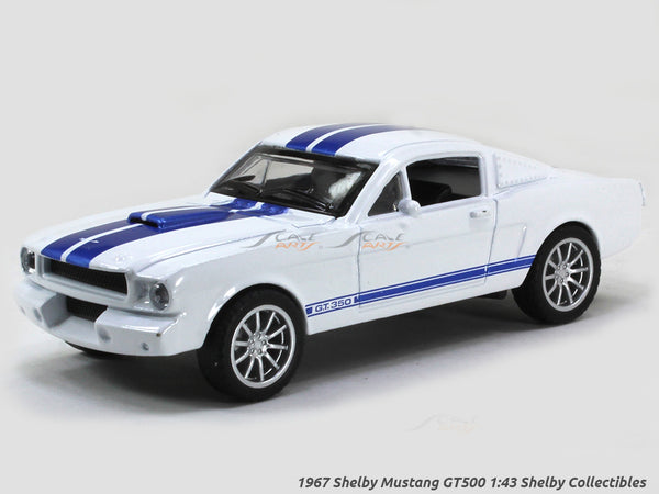 1967 Shelby Mustang GT500 white 1:43 Shelby Collectibles diecast Scale Model Car