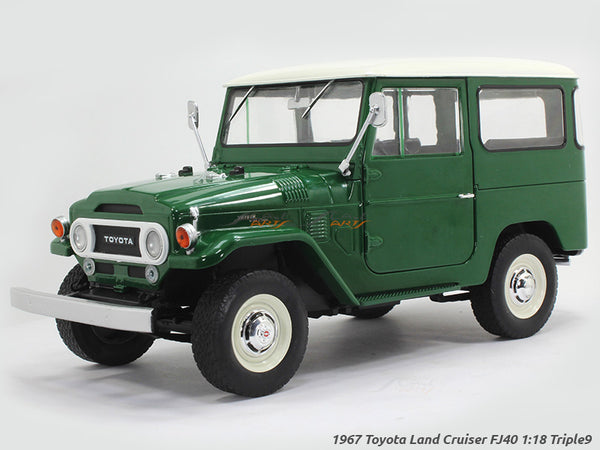 1967 Toyota Land Cruiser FJ40 1:18 Triple9 diecast Scale Model Car