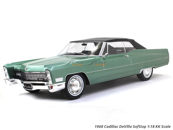 1968 Cadillac DeVille Softtop 1:18 KK Scale diecast model car