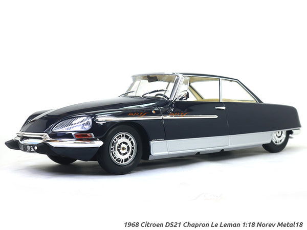 1969 Citroen DS21 Chapron Le Leman 1:18 Norev Metal18 Scale diecast model car