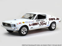 1968 Ford Mustang S/S Cobra Jet Hubart Platt 1:18 Auto World diecast scale model car