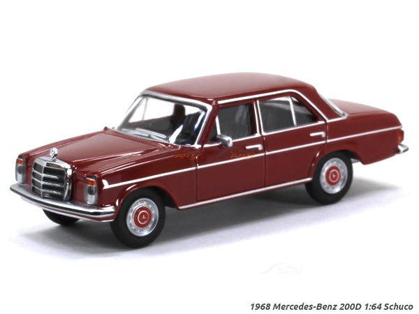 1968 Mercedes-Benz 200D 1:64 Schuco diecast Scale Model car