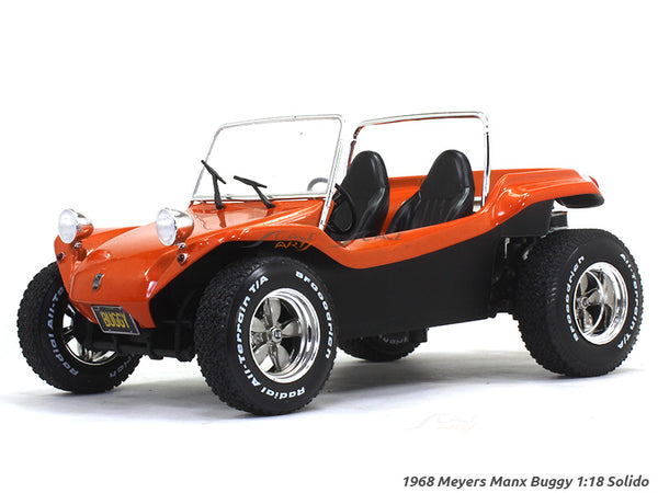 1968 Meyers Manx Buggy orange 1:18 Solido diecast Scale Model Car
