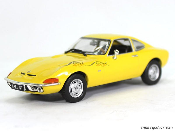 1968 - 1973 Opel GT 1:43 diecast Scale Model Car